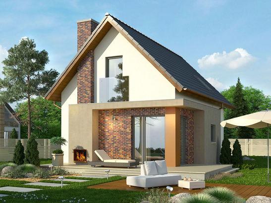 Projekt domu Tarot 2  - widok 2