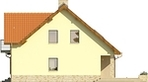 Projekt domu Laguna 3 - elewacja boczna 1