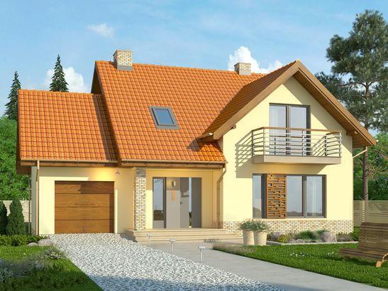 Projekt domu Laguna 3 - widok 1
