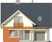 Projekt domu Klasyka 4 - elewacja przednia