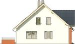 Projekt domu Klasyka 4 - elewacja boczna 1