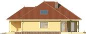 Projekt domu Verona 2 - elewacja boczna 1