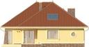 Projekt domu Verona 2 - elewacja tylna