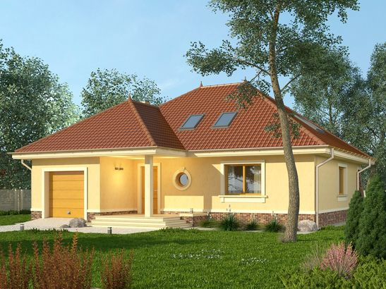 Projekt domu Verona 2 - widok 1