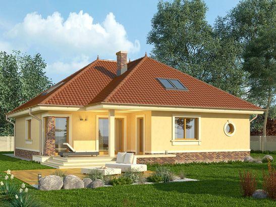 Projekt domu Verona 2 - widok 2