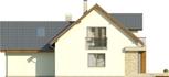 Projekt domu Rozalin 2 2G - elewacja tylna