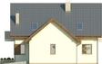 Projekt domu Rozalin 2 2G - elewacja boczna 2