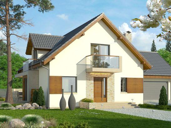 Projekt domu Rozalin 2 2G - widok 1