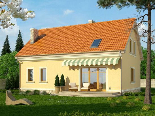 Projekt domu Cekin - widok 2