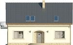Projekt domu Cekin 2 - elewacja przednia