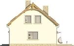 Projekt domu Cekin 2 - elewacja boczna 1