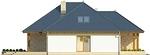 Projekt domu Verona 3 - elewacja boczna 1