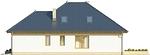Projekt domu Verona 3 - elewacja boczna 2