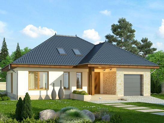 Projekt domu Verona 3 - widok 2