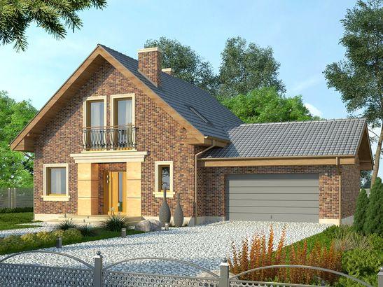 Projekt domu Adorator - widok 2