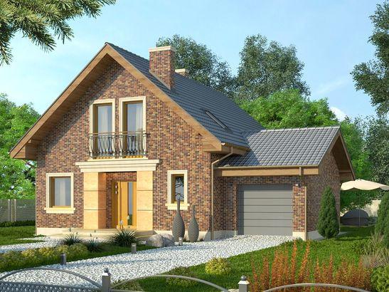 Projekt domu Adorator - widok 3