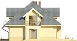Projekt domu Ikebana 2 - elewacja boczna 1