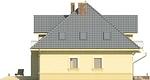 Projekt domu Ikebana 2 - elewacja boczna 2