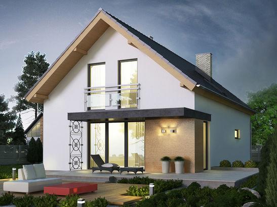 Projekt domu Master - widok 1