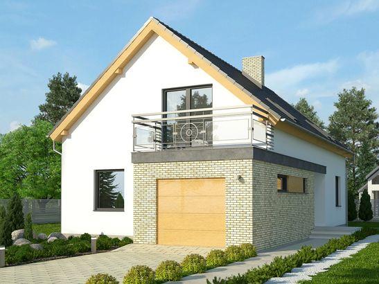Projekt domu Master - widok 2