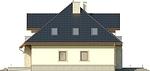 Projekt domu Ikebana 3 - elewacja boczna 2