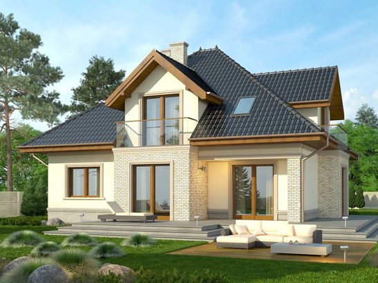 Projekt domu Ikebana 3 - widok 2