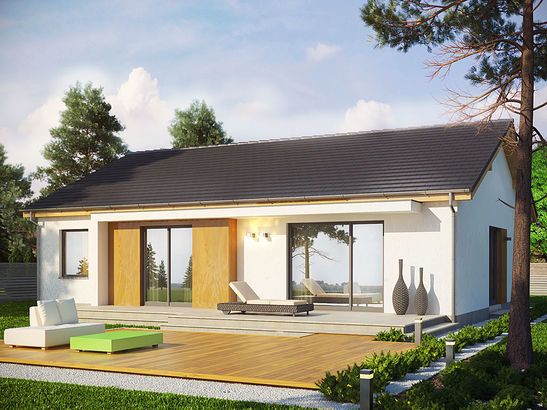 Projekt domu Dimaro - widok 1