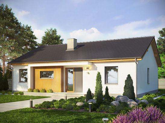 Projekt domu Dimaro - widok 2