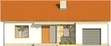 Projekt domu Dimaro 2 - elewacja przednia
