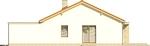Projekt domu Dimaro 2 - elewacja boczna 1