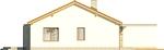 Projekt domu Dimaro 2 - elewacja boczna 2