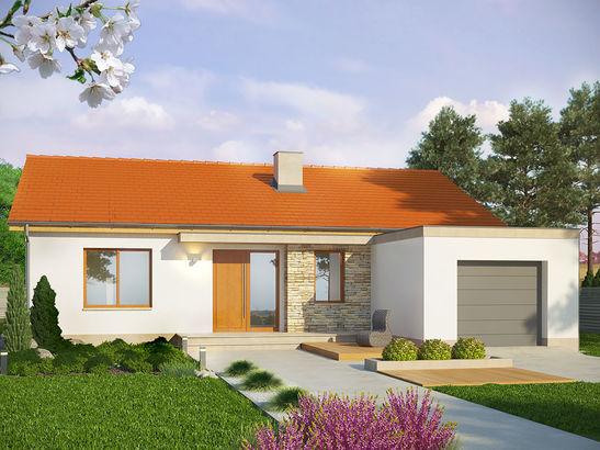 Projekt domu Dimaro 2 - widok 1