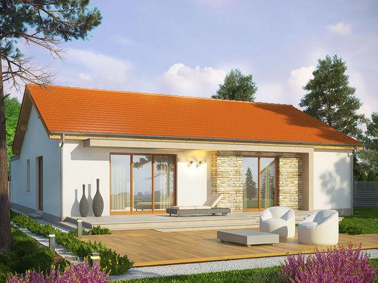 Projekt domu Dimaro 2 - widok 2