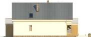 Projekt domu Inicjał - elewacja boczna 2