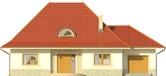 Projekt domu Amaretto 2 - elewacja przednia