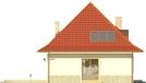Projekt domu Amaretto 2 - elewacja boczna 1