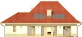 Projekt domu Amaretto 2 - elewacja tylna