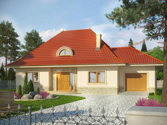 Projekt domu Amaretto 2 - widok 1