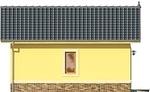 Projekt domu Garaż 15 - elewacja boczna 1