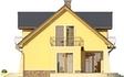 Projekt domu Szmaragd 3 - elewacja boczna 1
