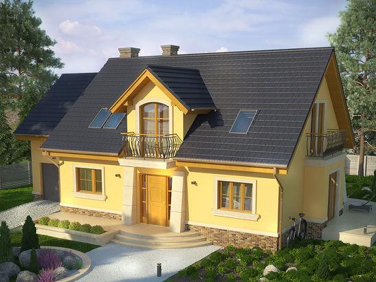 Projekt domu Szmaragd 3 - widok 3