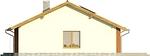 Projekt domu Awans - elewacja boczna 2