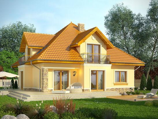 Projekt domu Meritum 2 - widok 2