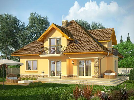 Projekt domu Meritum 3 - widok 2
