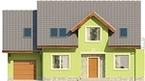 Projekt domu Marzenie - elewacja przednia