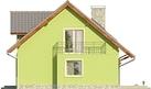 Projekt domu Marzenie - elewacja boczna 1