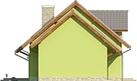 Projekt domu Marzenie - elewacja boczna 2