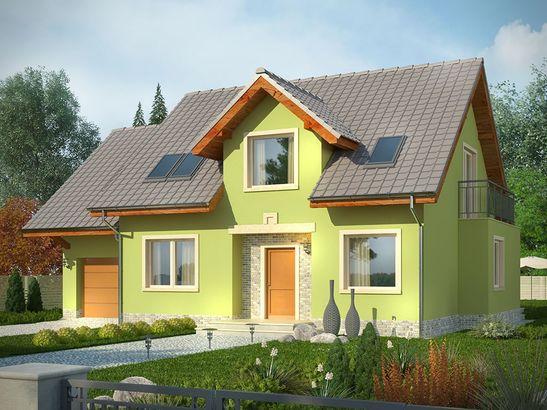 Projekt domu Marzenie - widok 1