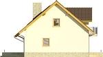 Projekt domu Wicher 2 - elewacja boczna 2
