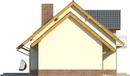 Projekt domu Komfort - elewacja boczna 2